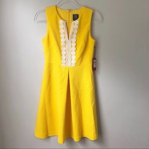 {Vince Camuto} NWT! yellow dress